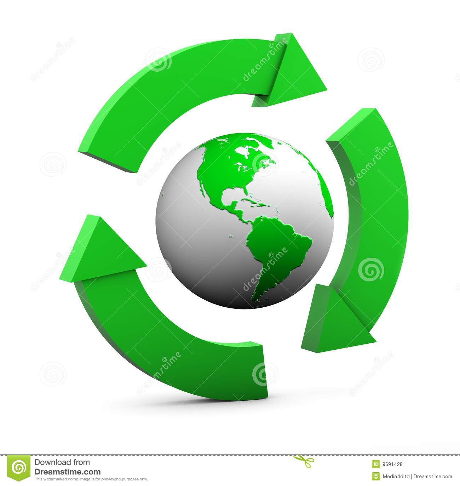 Environmental Sign Usa Royalty Free Stock Photos