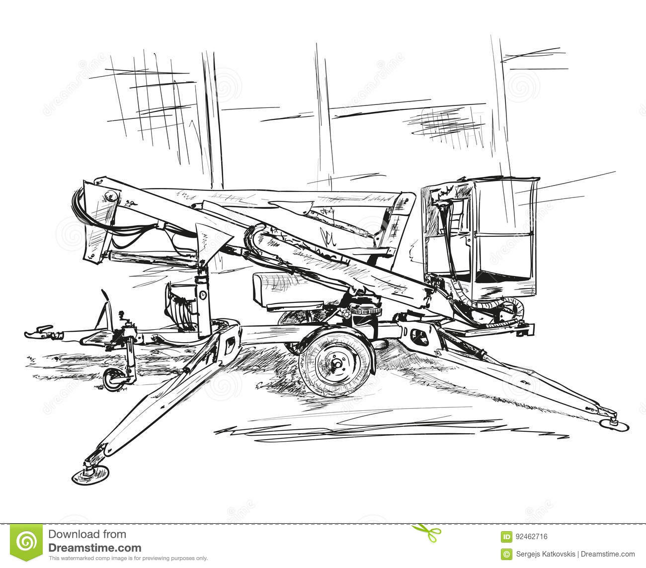 Equipment Stock Illustration Image Of Safety Device