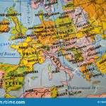Puzzle Map Of Europe Stock Photo Image Of Europe Journey 136473416