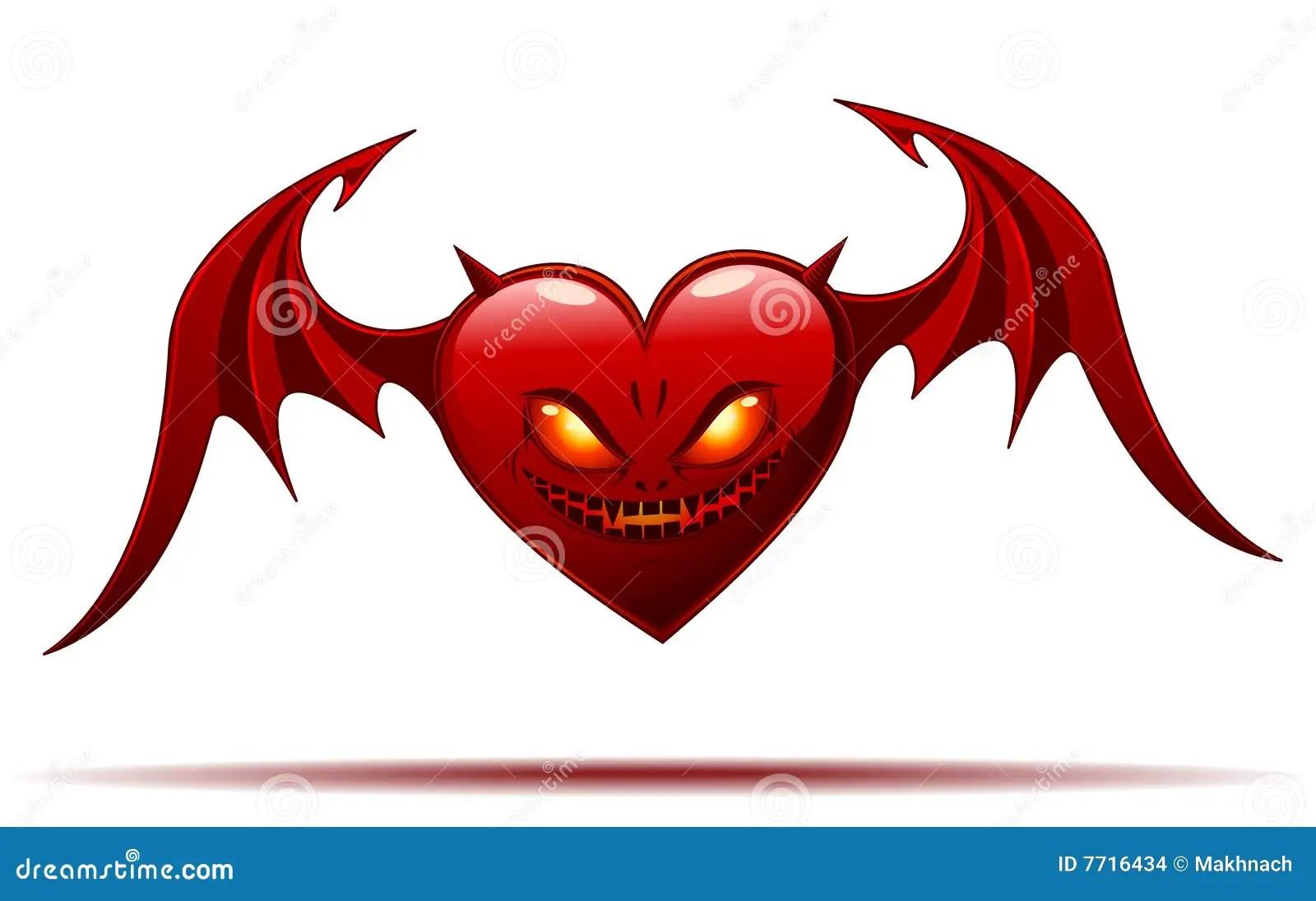 Heart Wings Background