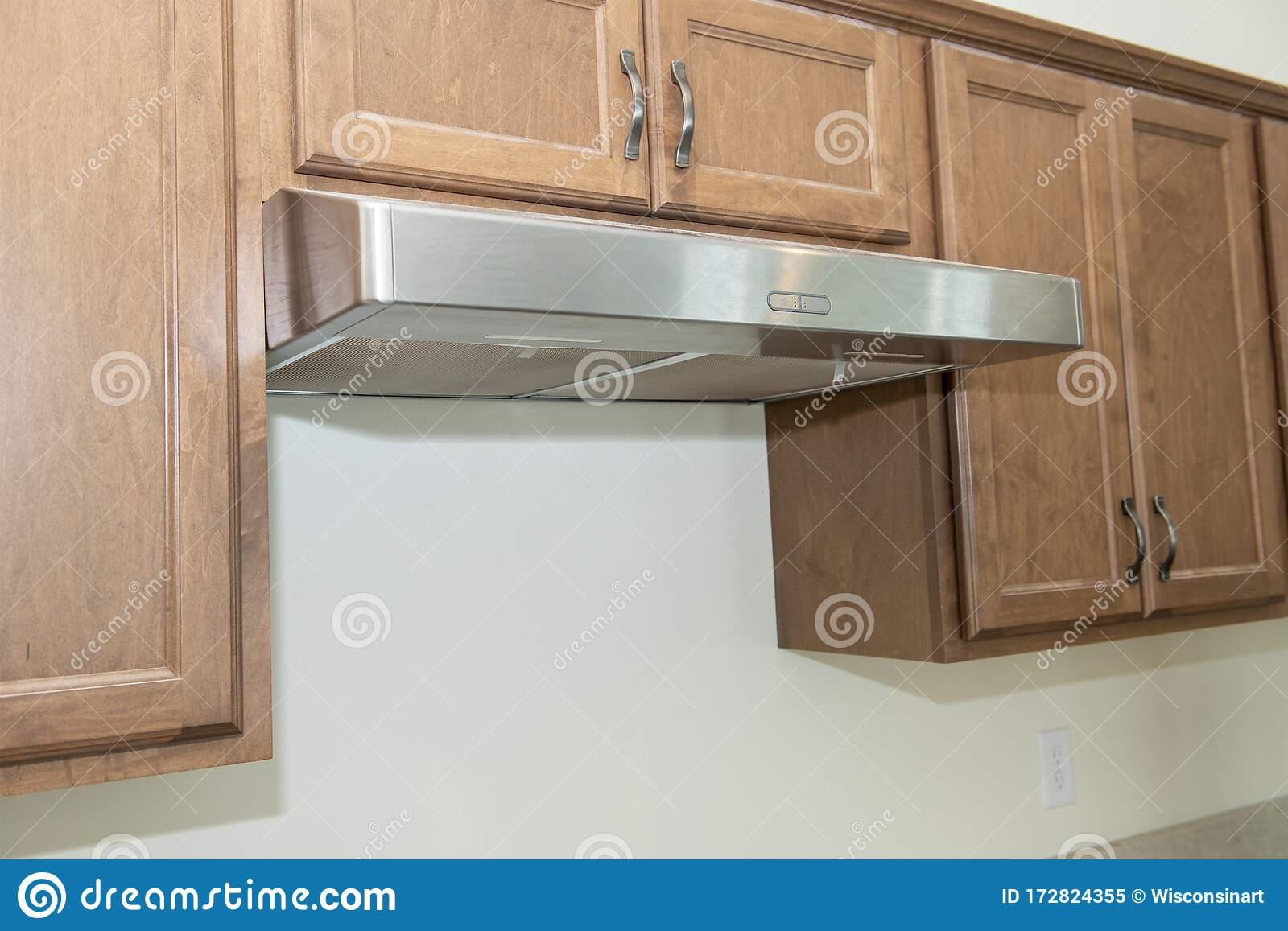 https www dreamstime com exhaust fan gas stove new house construction project home being updated remodel modern appliances image172824355