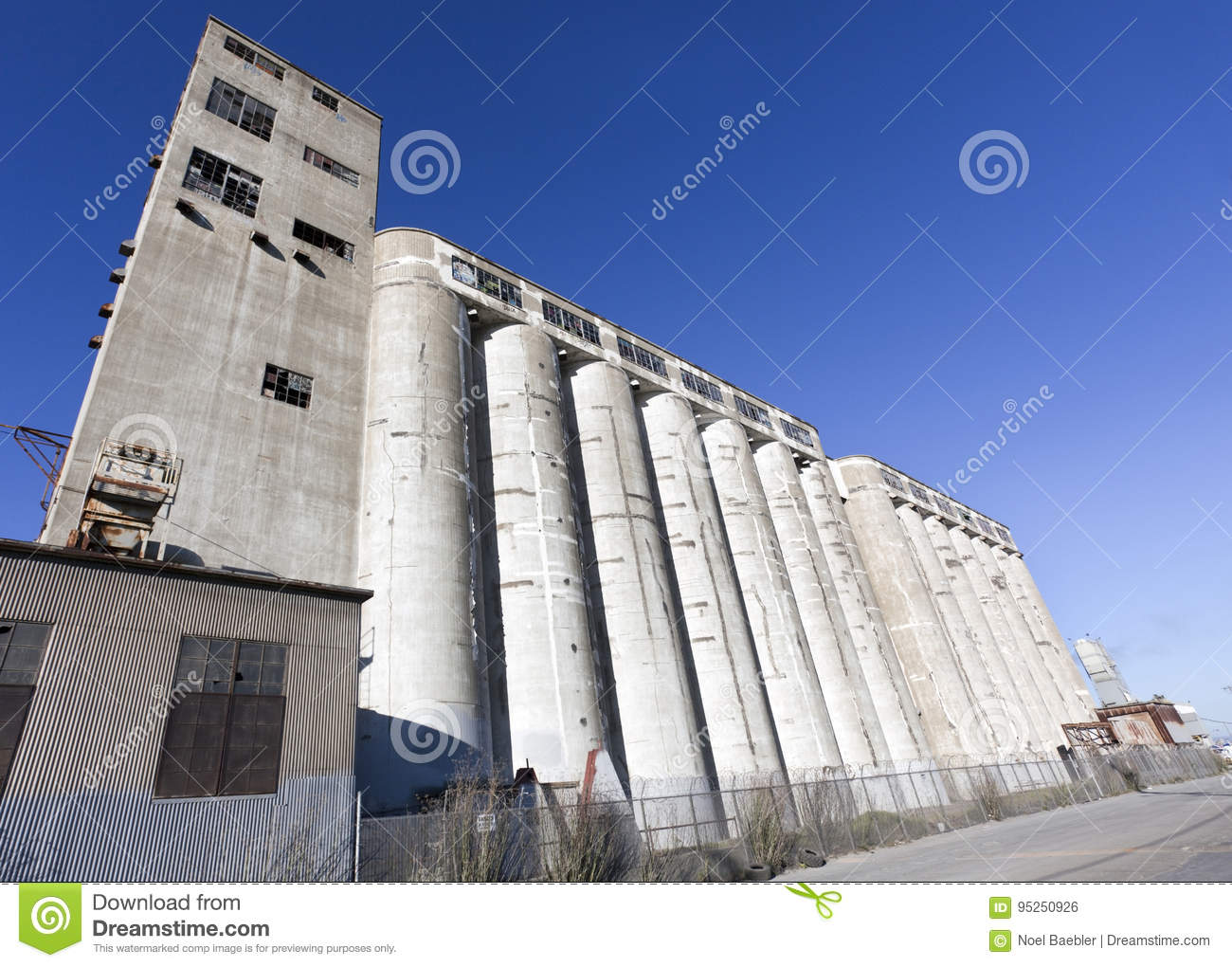 Factory Silos Stock Photo Image Of Industry Site Sand