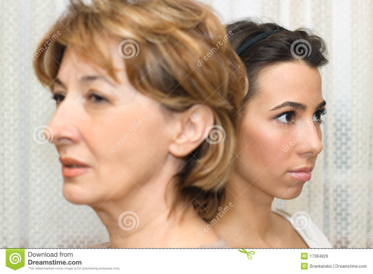 Family Conflict Stock Photo Image Of Mother