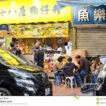 Family Have Dinner In Small Chinese Fast Food Restaurant With Traditional Menu Editorial Image Image Of Meal Mother 68371230