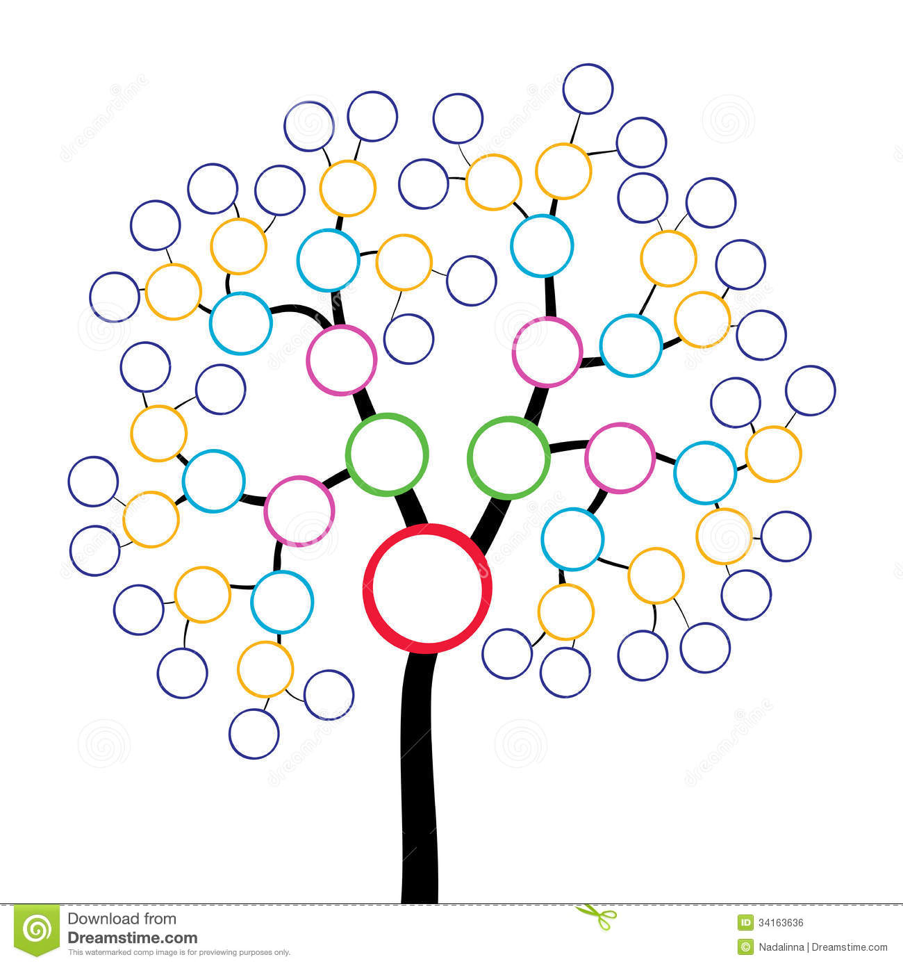 Family Tree Royalty Free Stock Image