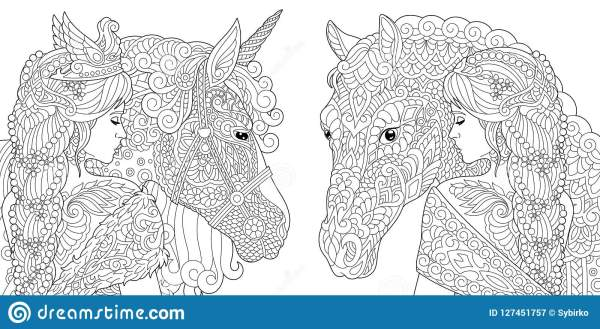 fantasy coloring pages for adults # 7
