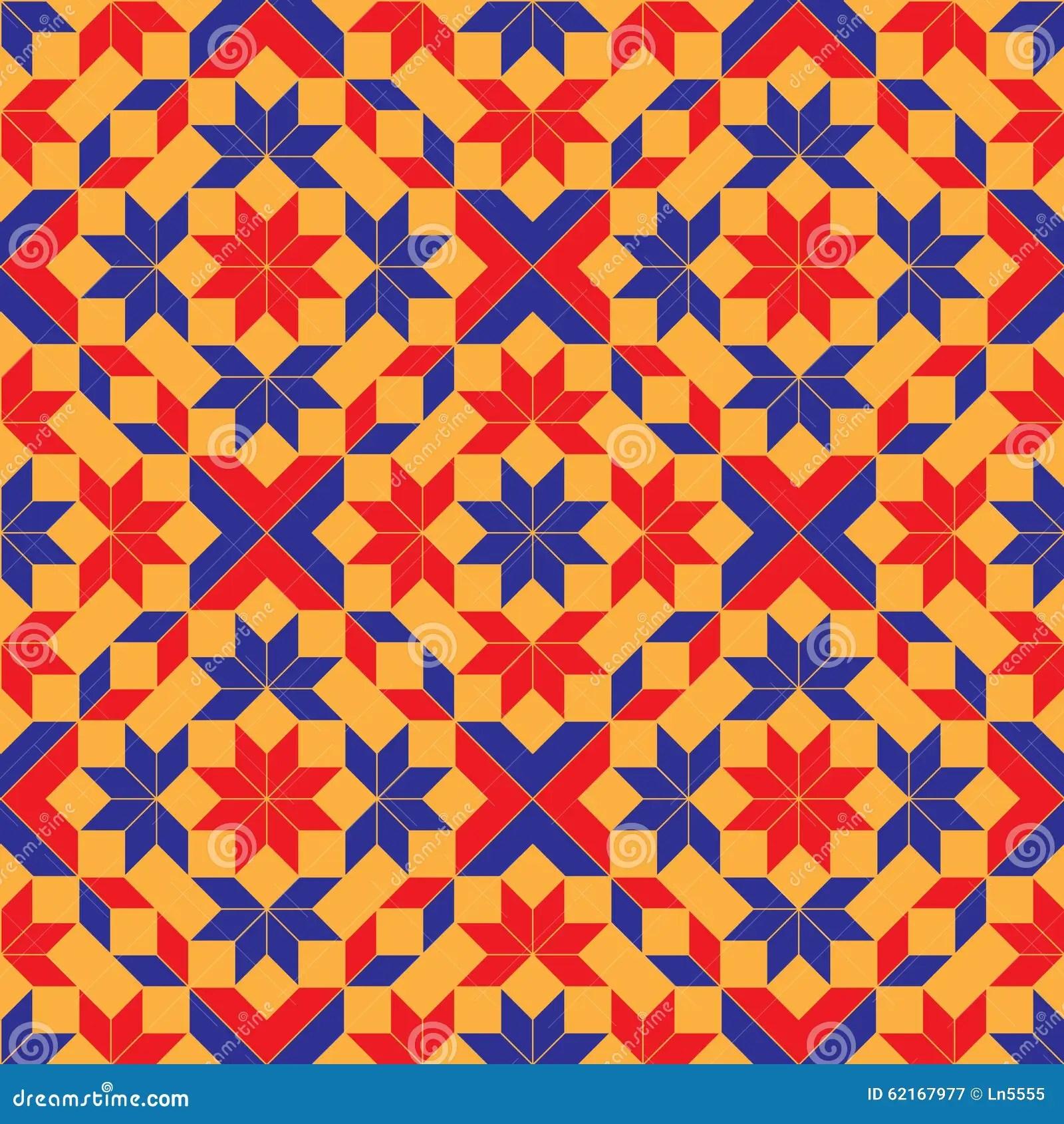 Seamless Fashionable Geometric Pattern Royalty Free Illustration