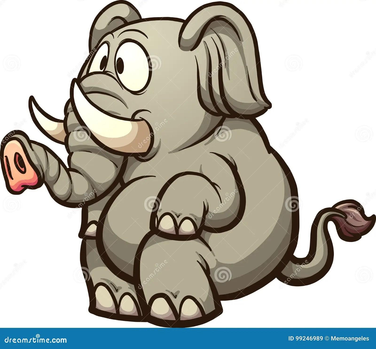 Cartoon Elephant And Emu Alphabet Tracing Worksheet