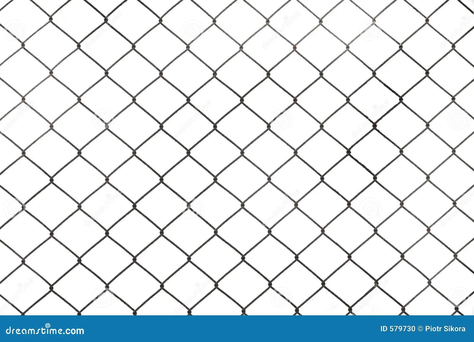 Fence Isolated Stock Photo