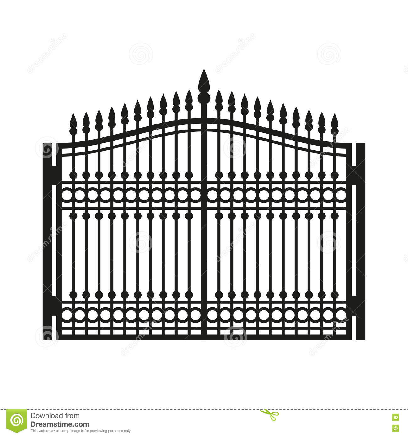White Fences And Gates Rustic