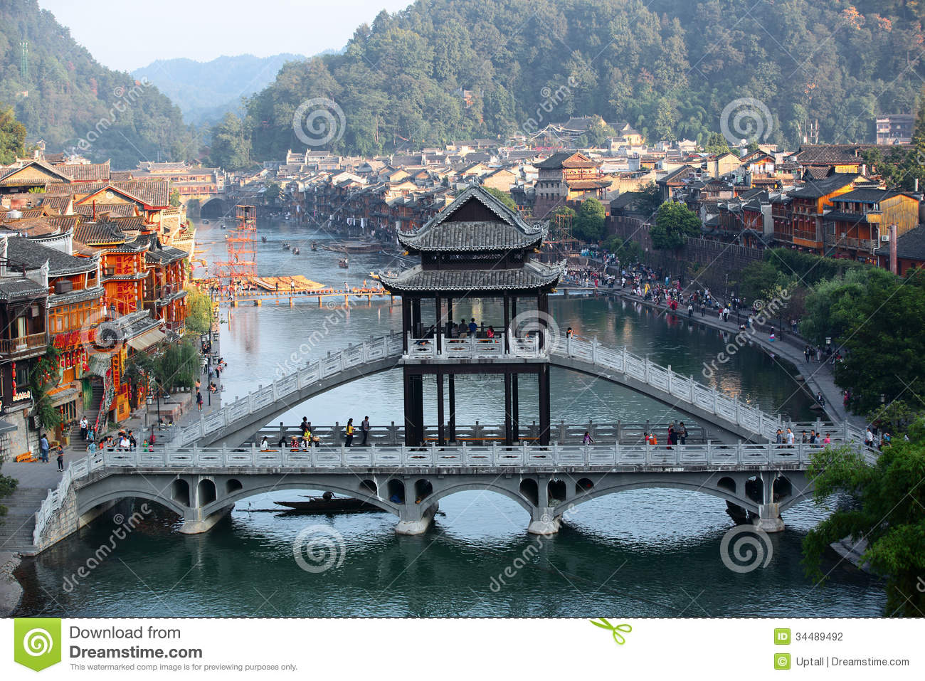 Fenghuang Ancient Town Editorial Photography Image Of