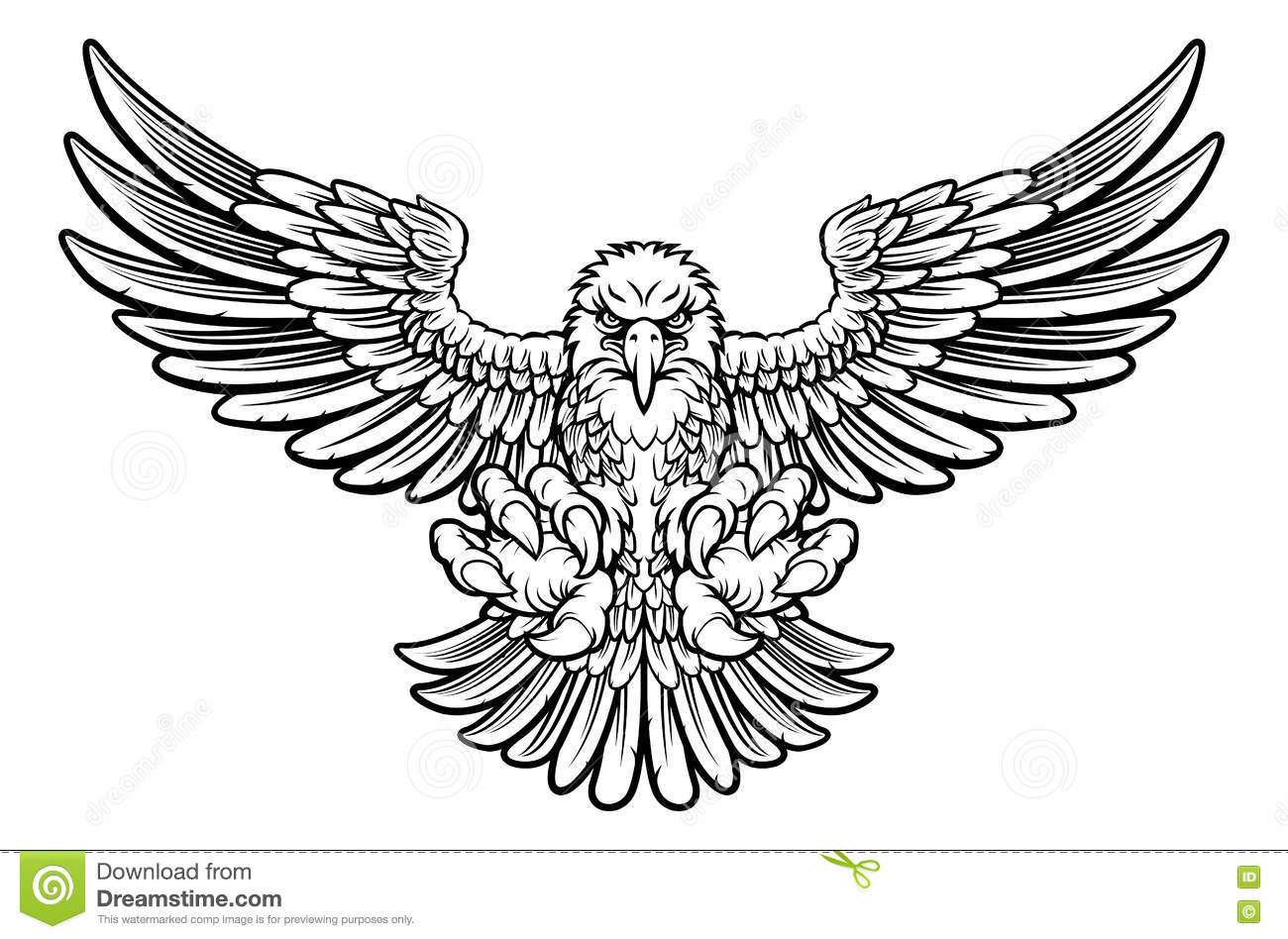 Philadelphium Eagle Clipart