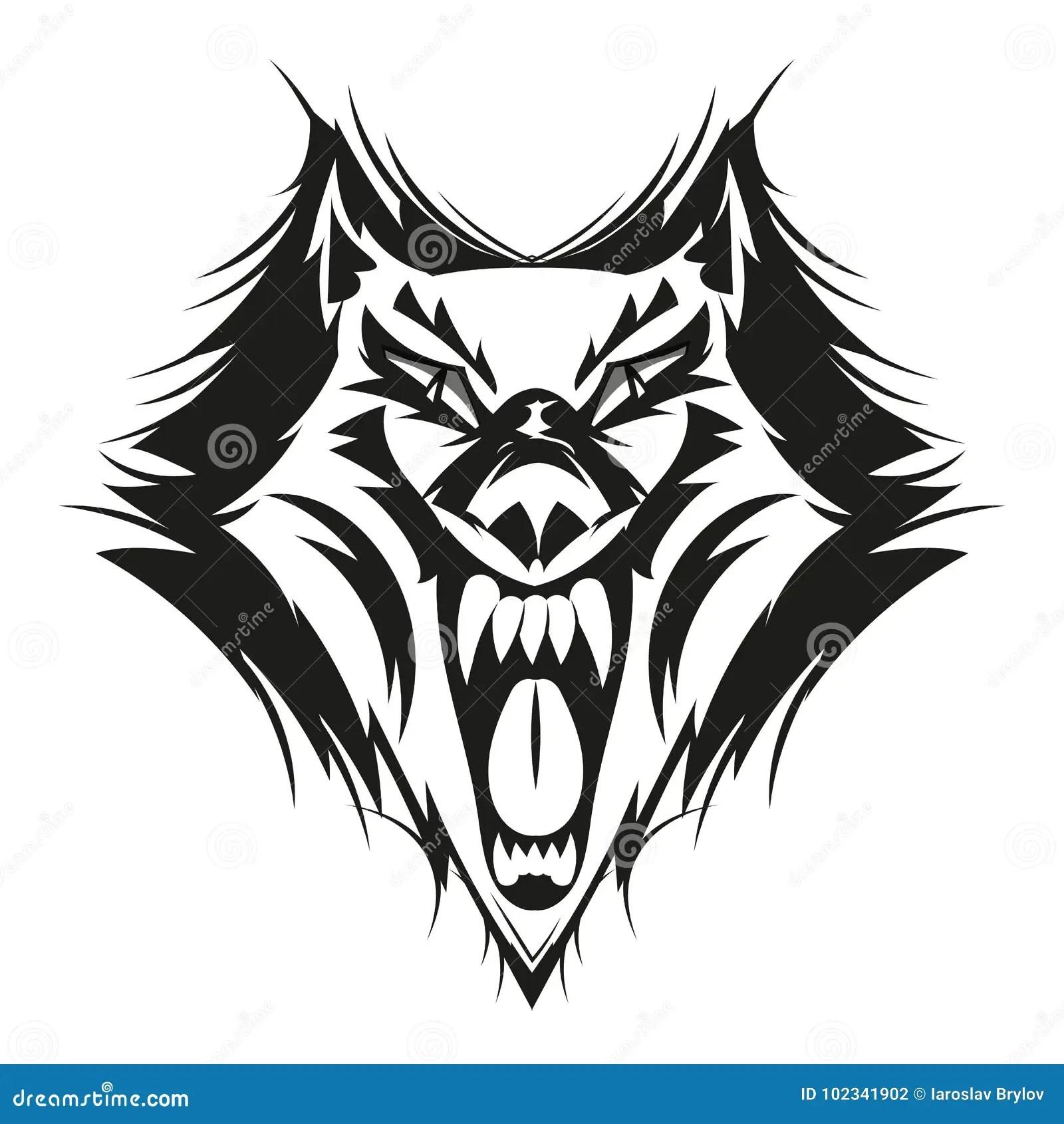 black grey wolf