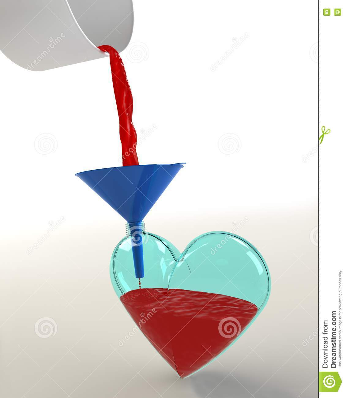 Fill The Heart Save A Life Stock Images
