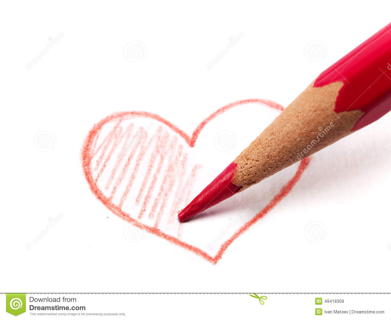 Fill My Heart With Love Stock Image Image Of Drawing