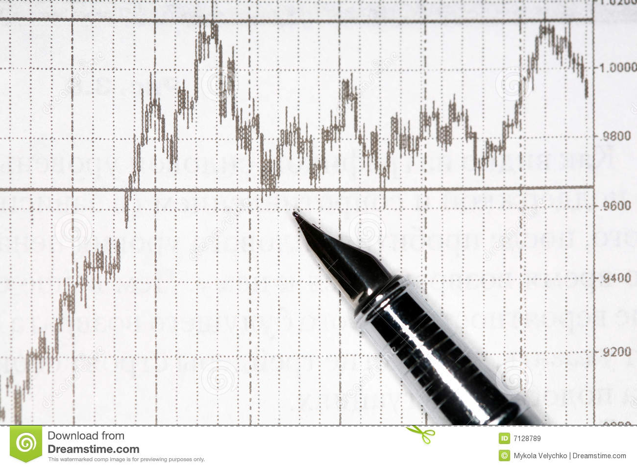 Financial Diagram Royalty Free Stock Images