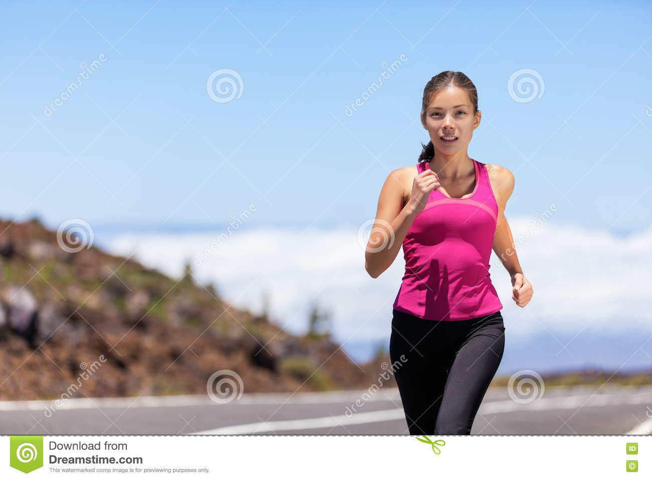 Fitness Running Woman Runner Living Healthy Lifestyle