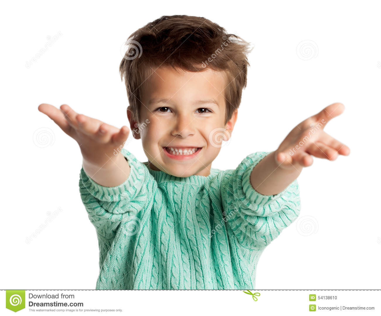 Five Year Old Boy Stock Photo Image Of People Four