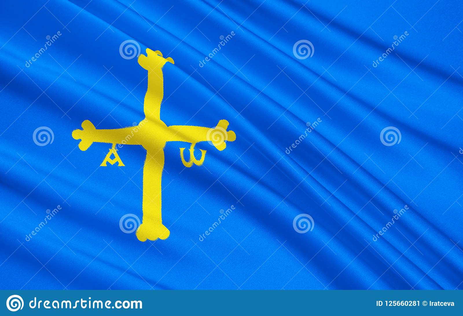 Flag Kingdom Asturias