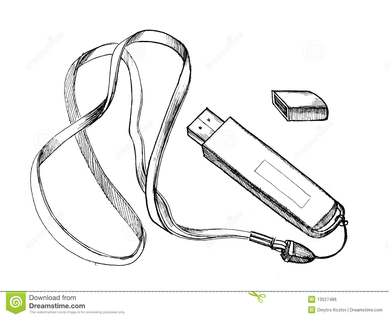 Flash Drive Royalty Free Stock Image