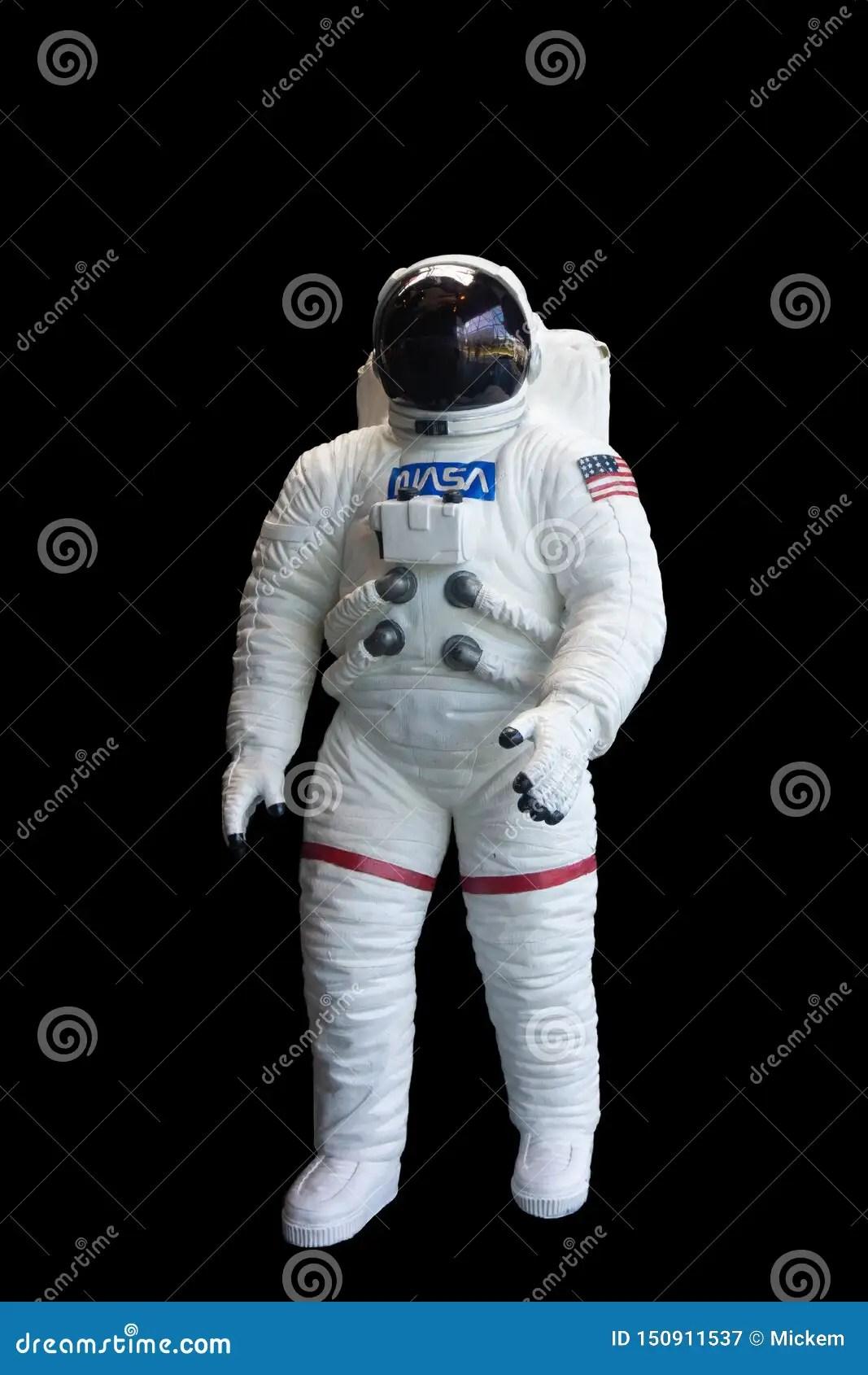 fond de noir de space suit vertical d