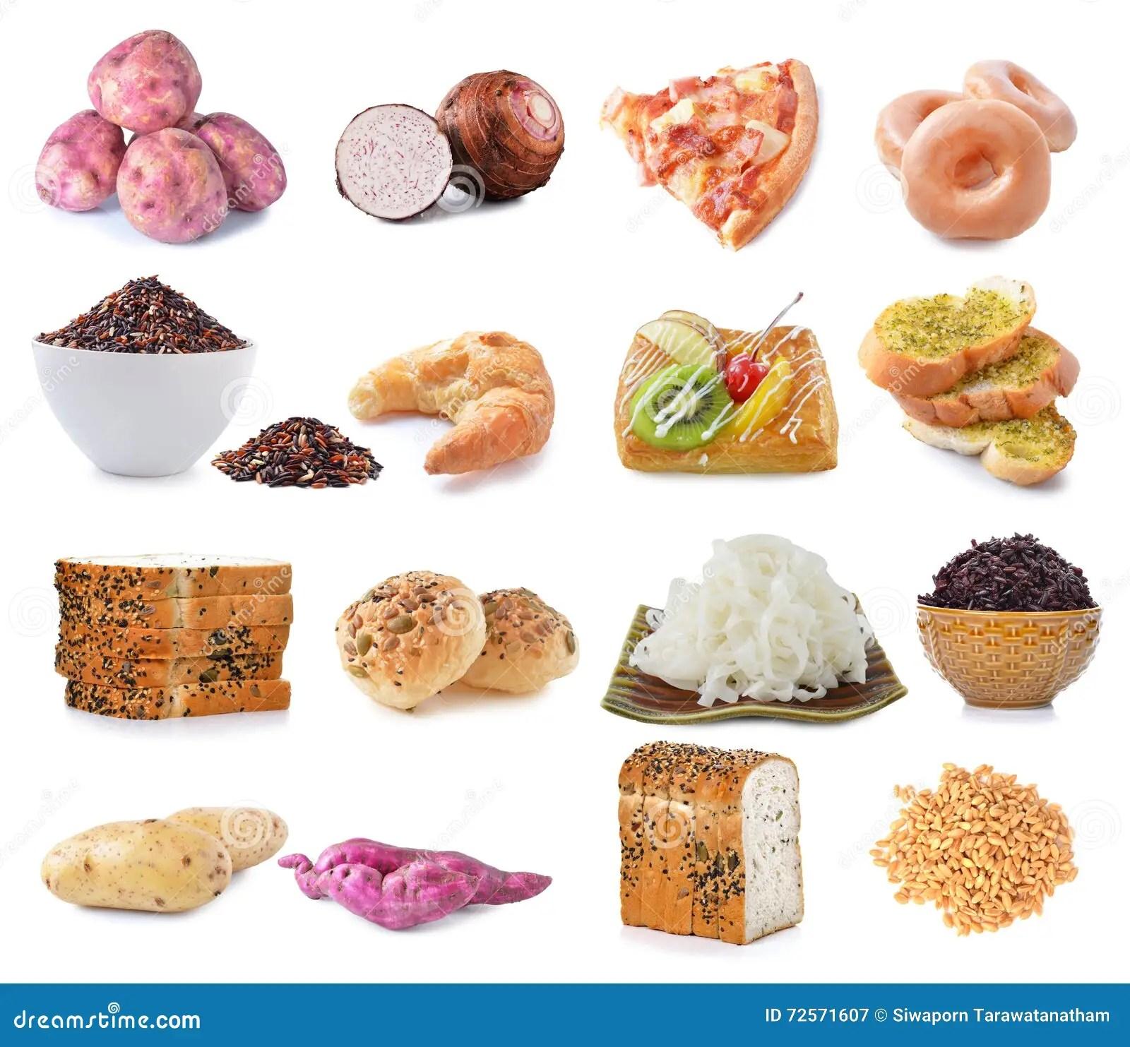 Fontes Do Alimento De Hidratos De Carbono Complexos
