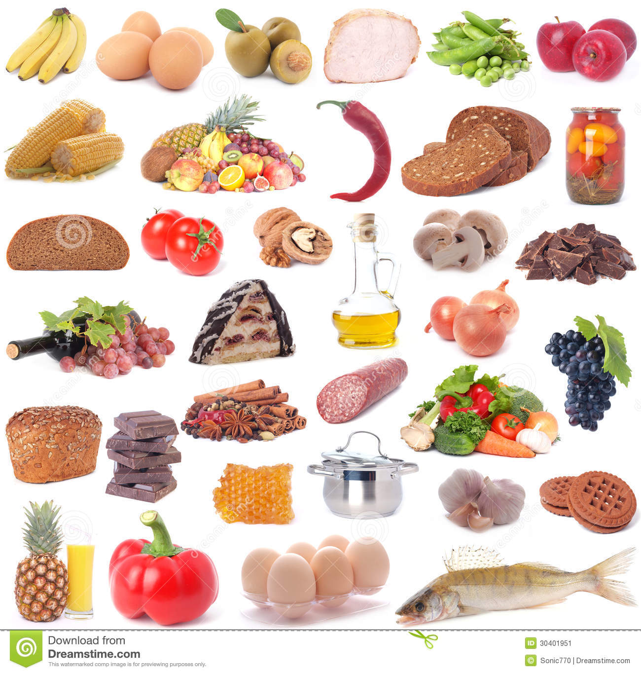 Food For All Tastes Stock Image