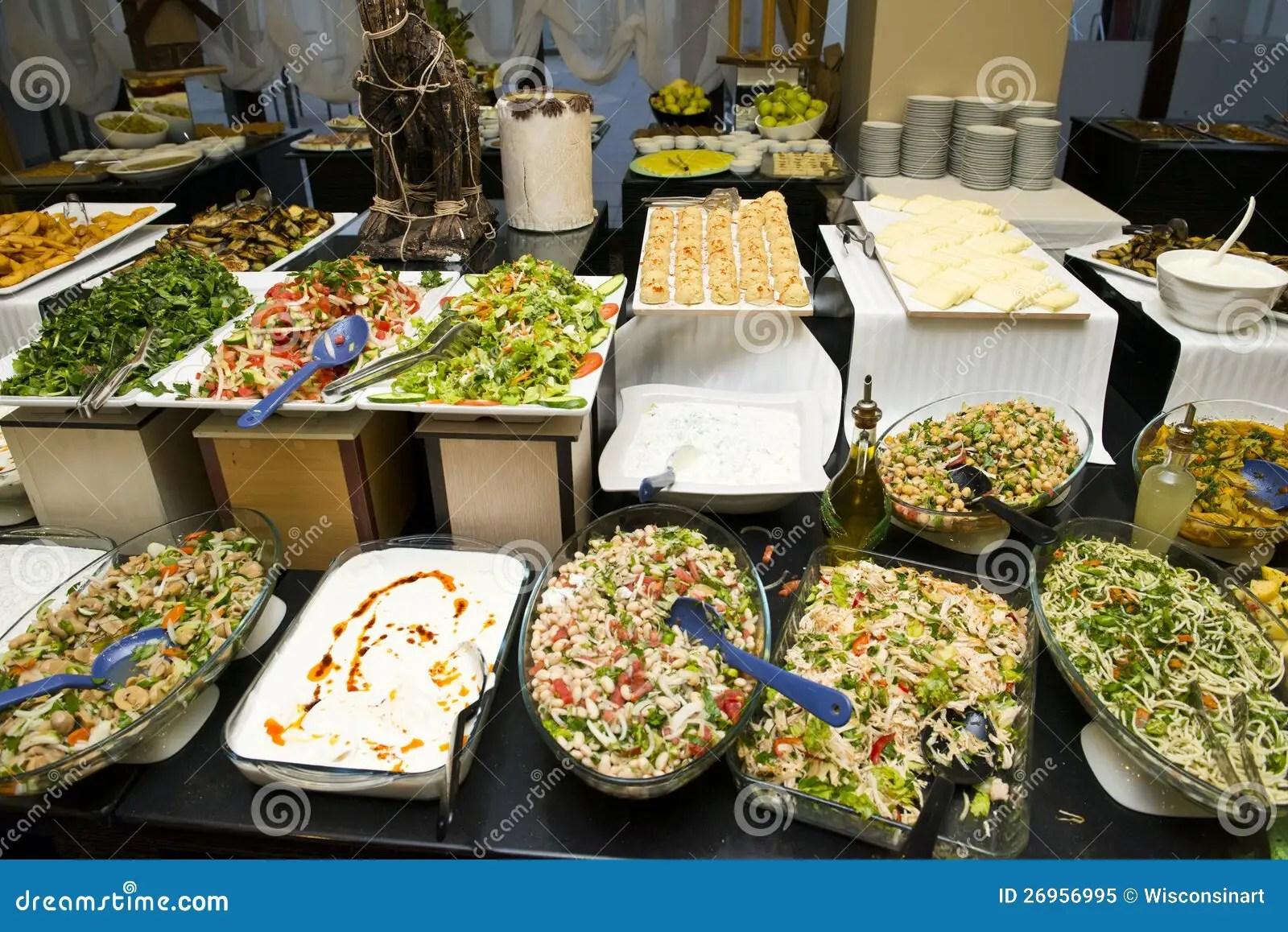 Food Buffet Stock Image Image Of Dish Veggies