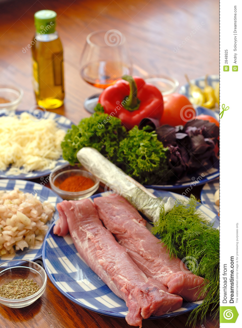 Food Components Stock Image Image Of Parsley Good Cook