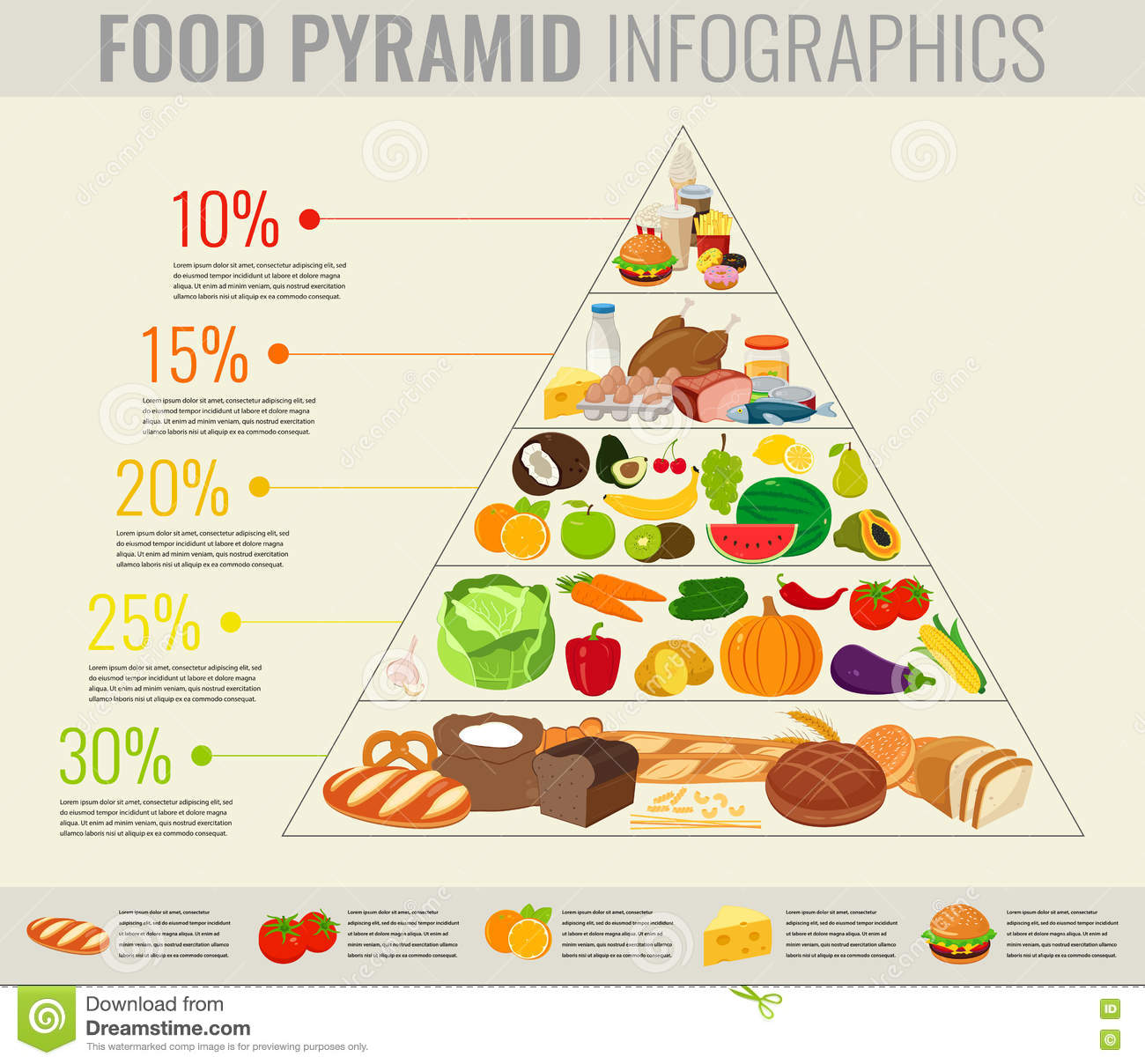 Kids Food Guide Pyramid