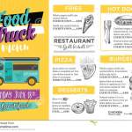 Food Truck Party Invitation Food Menu Template Design Food Fly Stock Vector Illustration Of Cart Icon 74146916