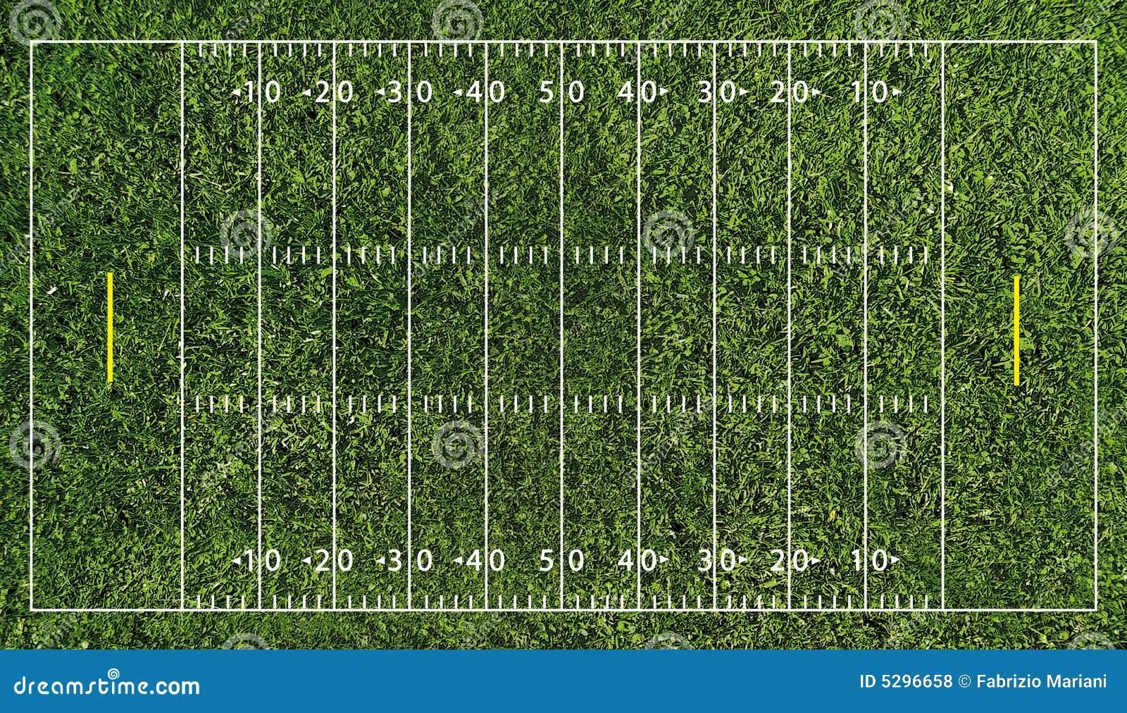 Nfl Football Field Diagram