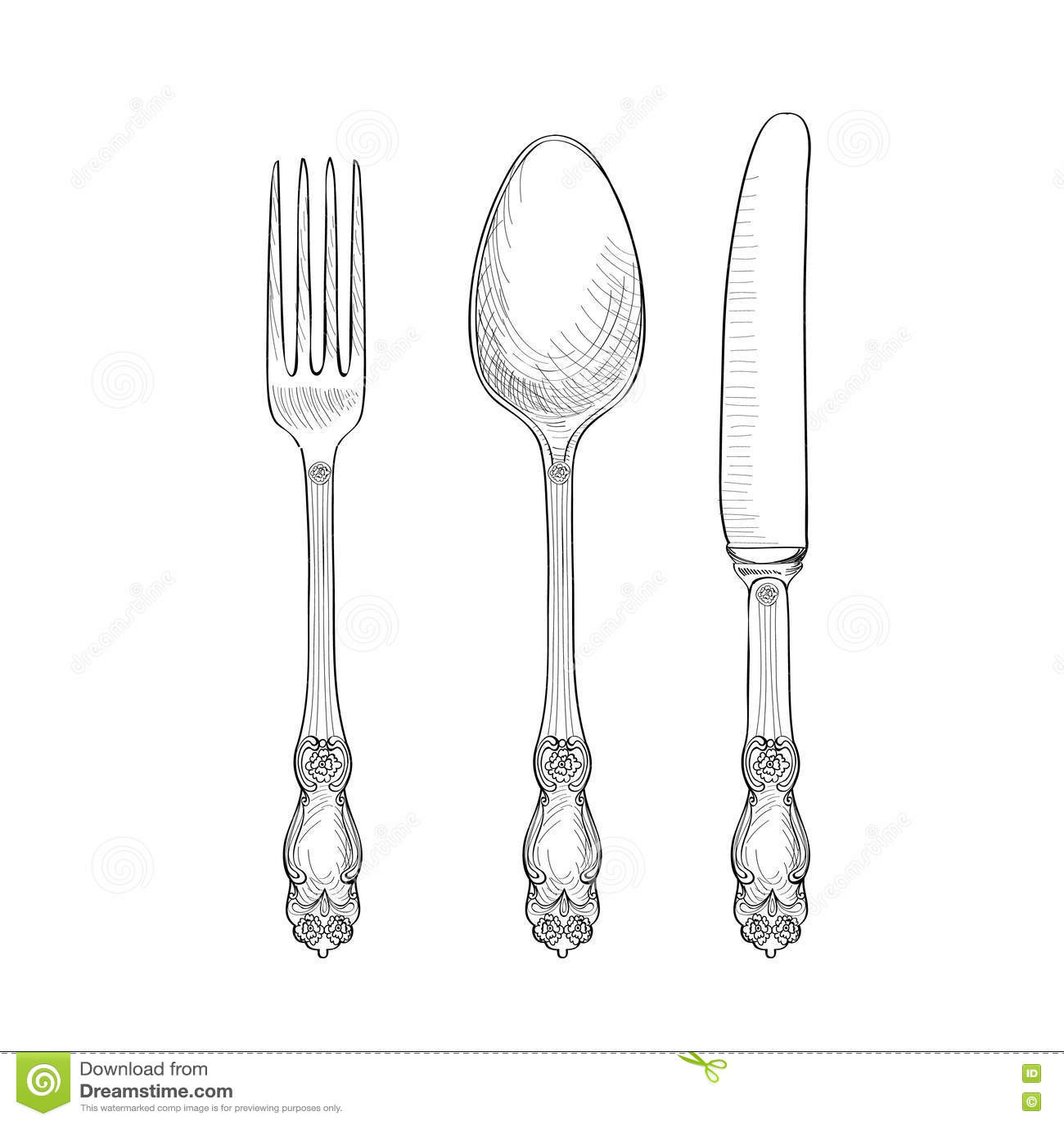 Clipart Fork