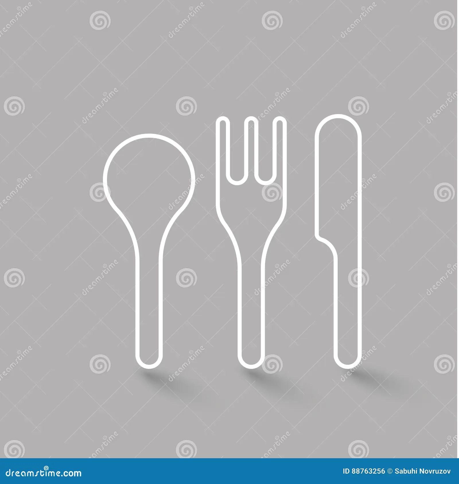Diner Food Doodles Vector Illustration Set Vector