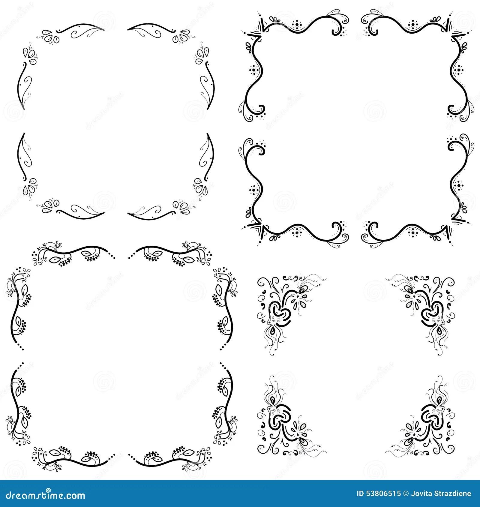 Frames Borders Stock Illustration