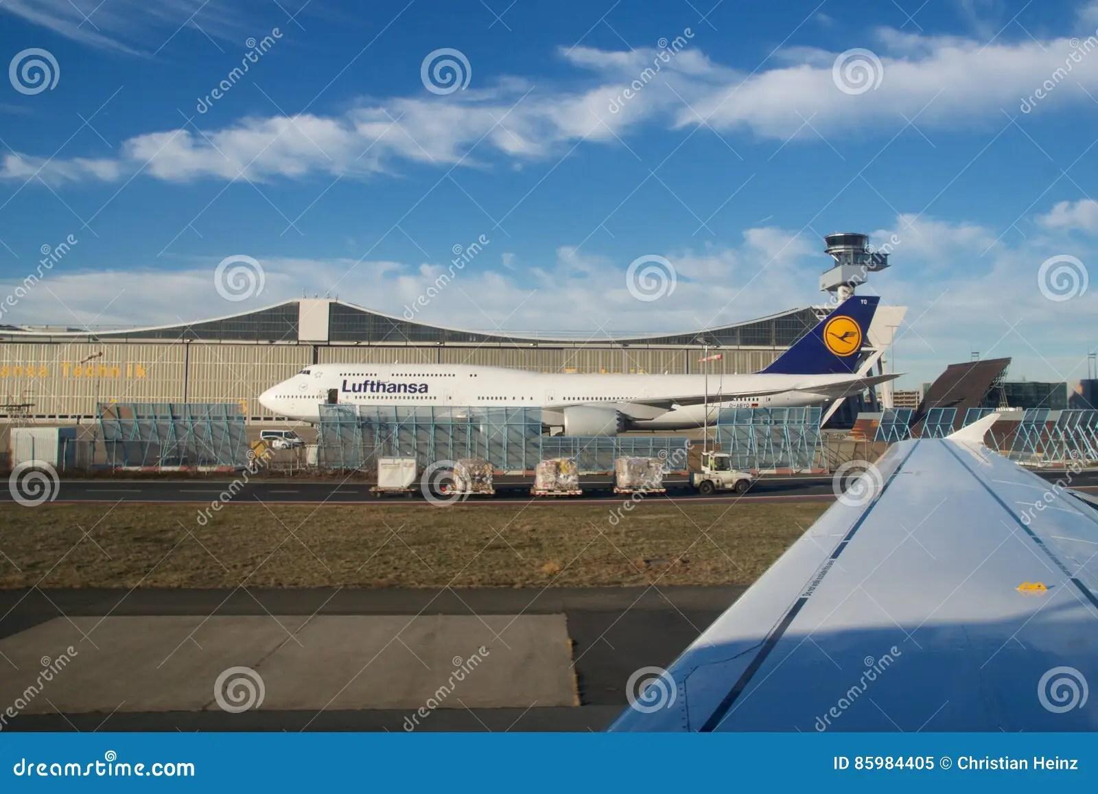 Frankfurt Germany Jan 20th 2017 Boeing 747 8 Of