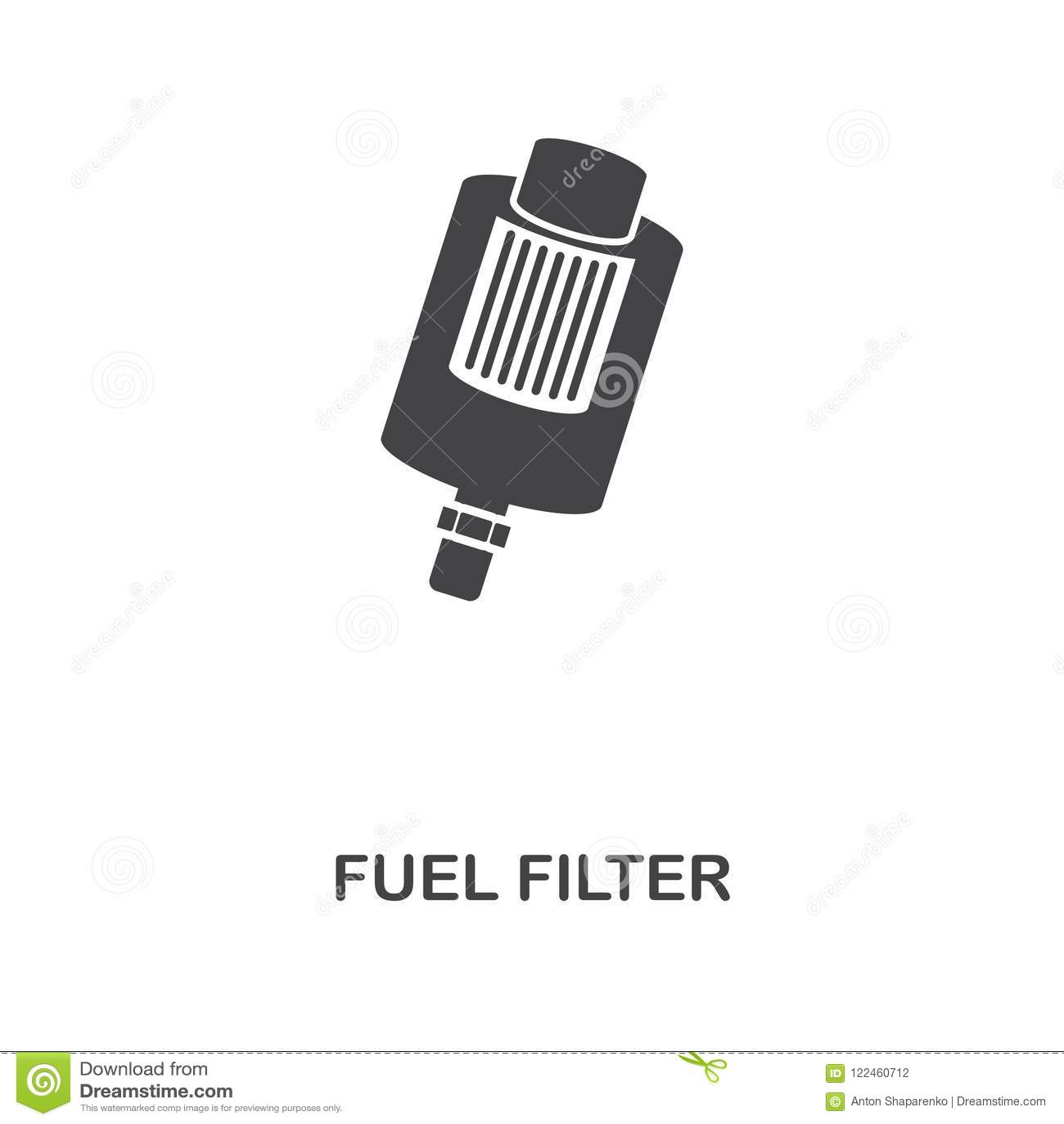 Fuel Filter Creative Icon Simple Element Illustration