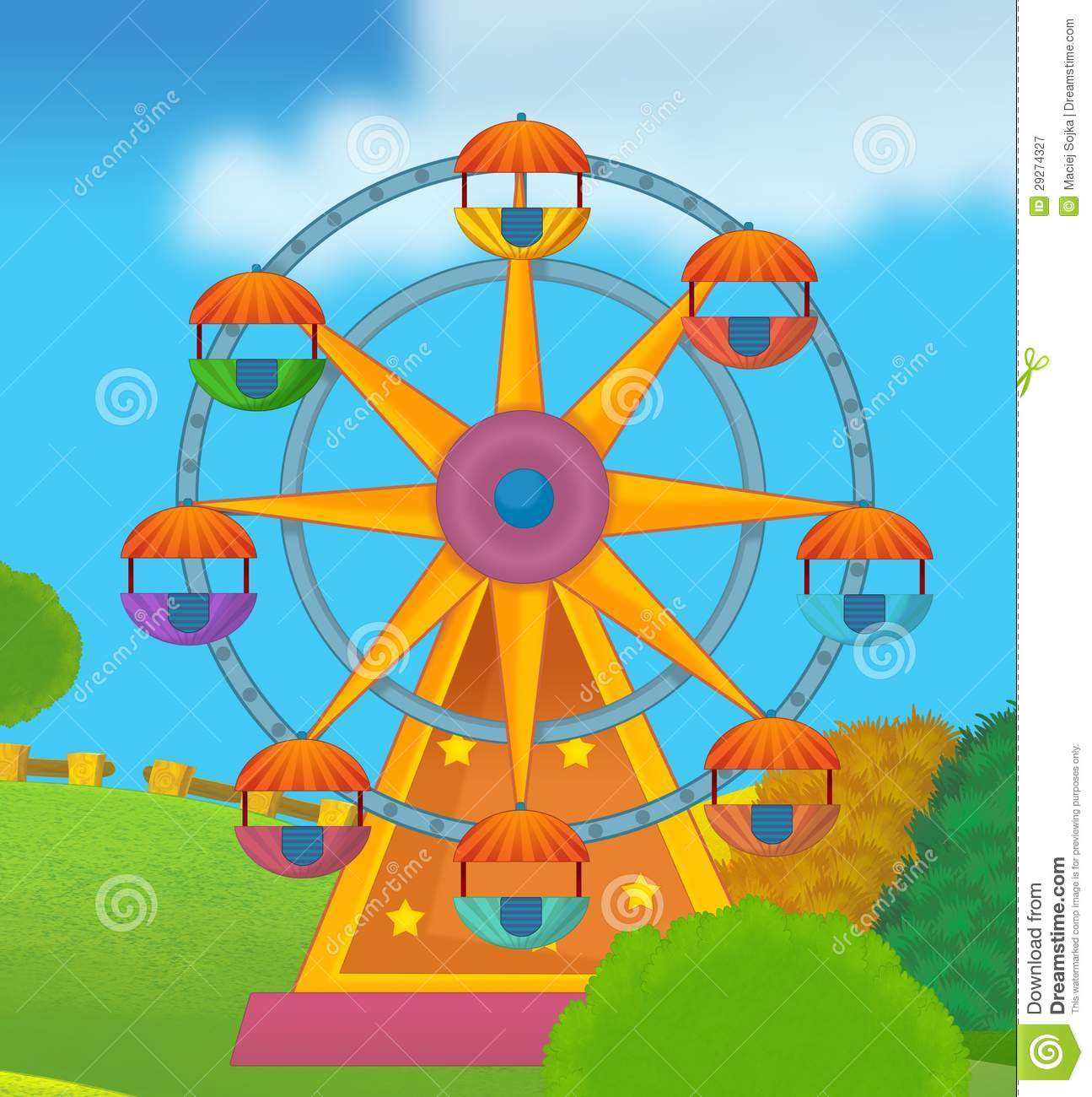 The Funfair Royalty Free Stock Photography
