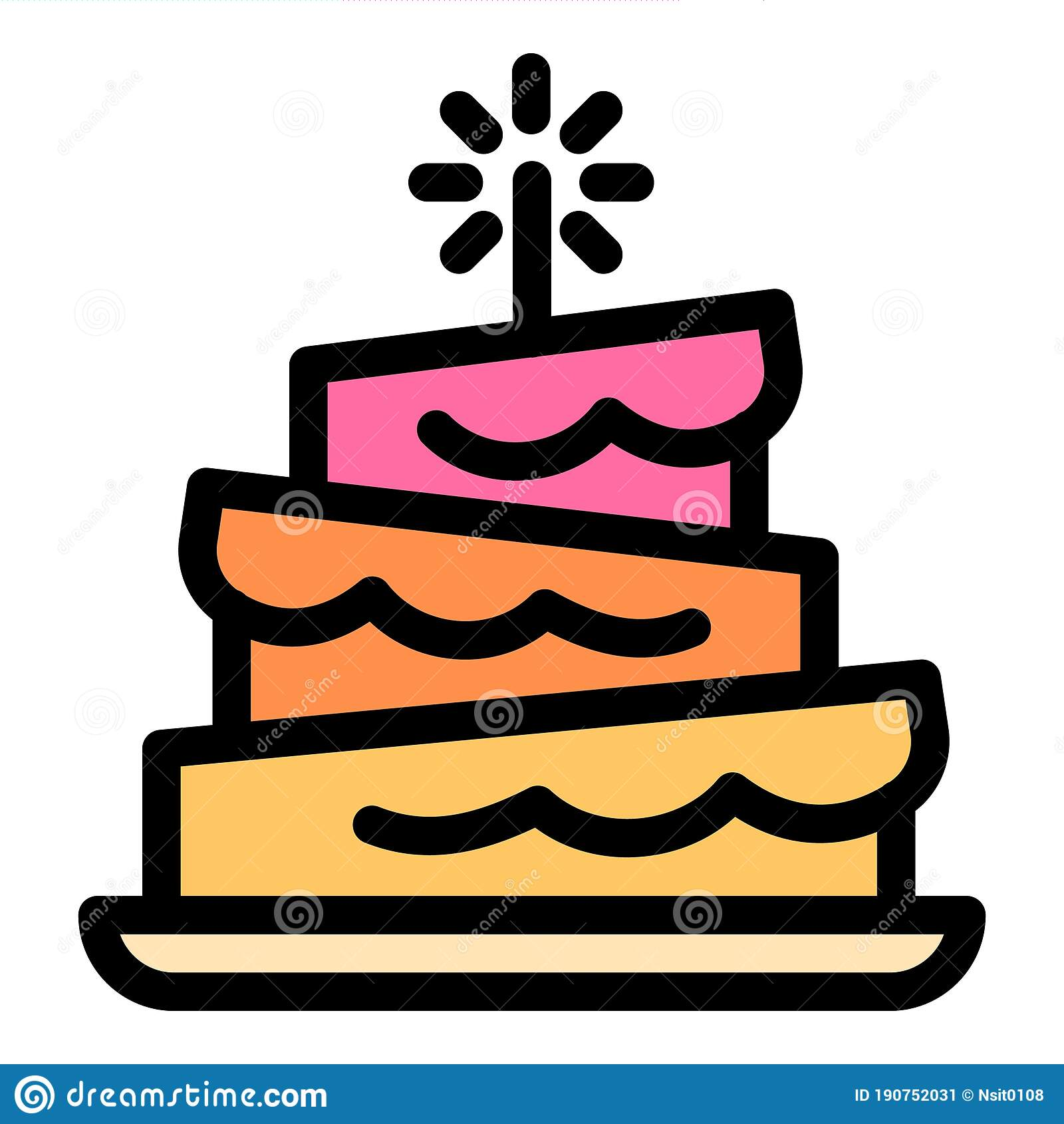 Funny Birthday Cake Stock Illustrations 12 702 Funny Birthday Cake Stock Illustrations Vectors Clipart Dreamstime