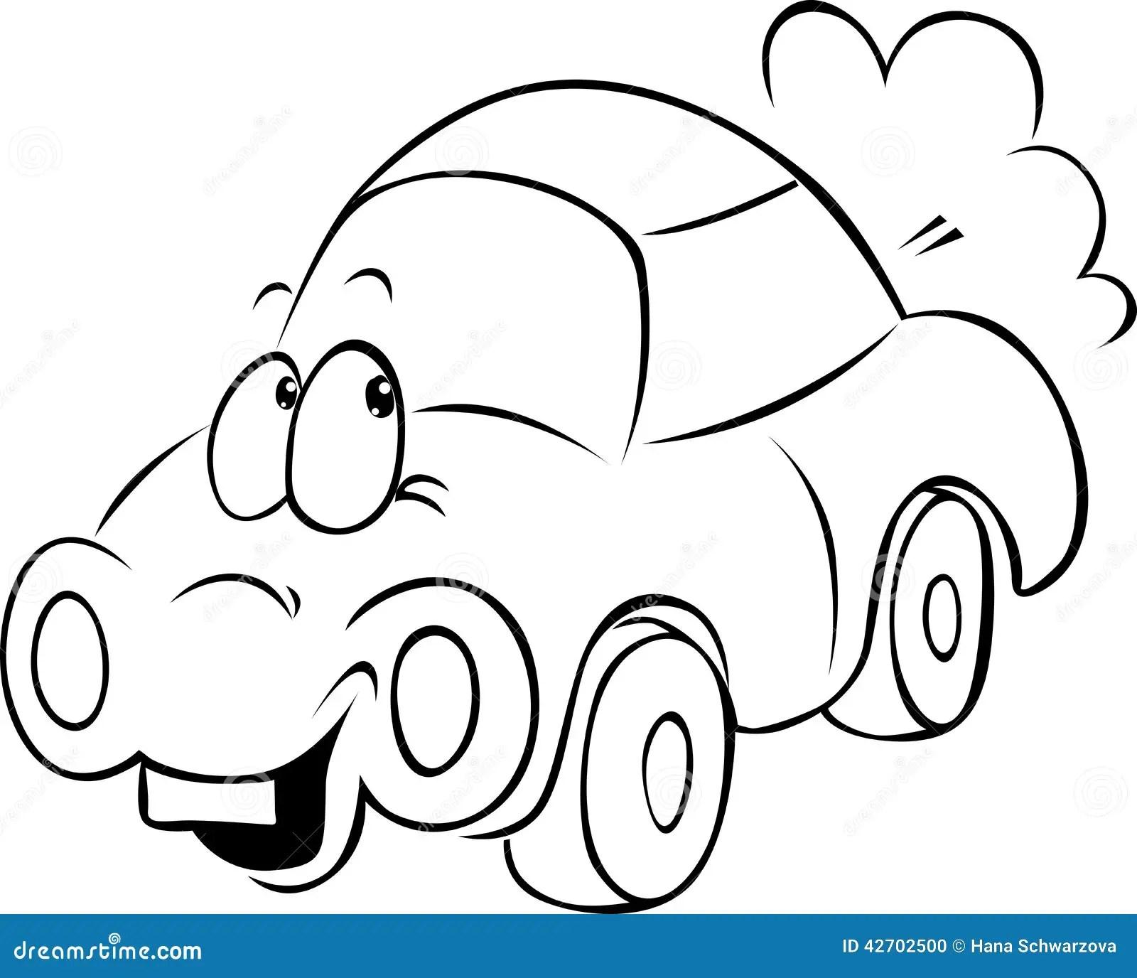 funny car drawings