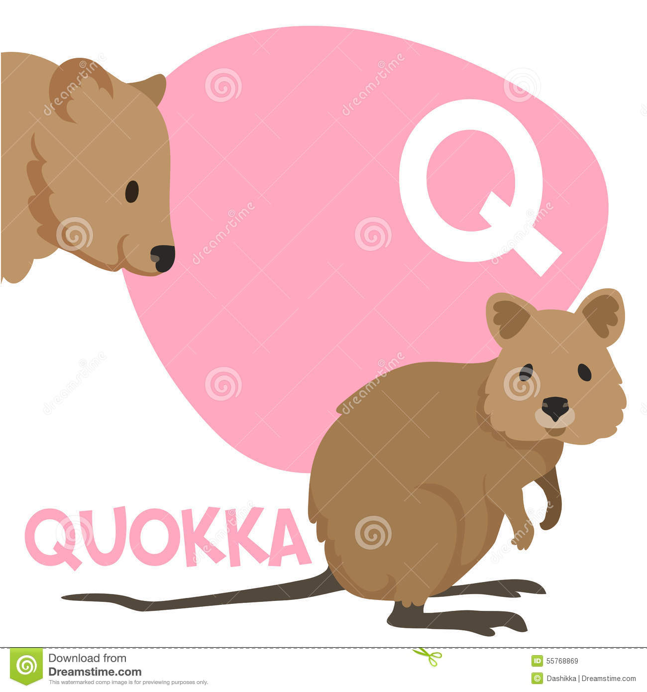 Cartoon Quokka Coloring Book And Dot To Dot Game For Kids