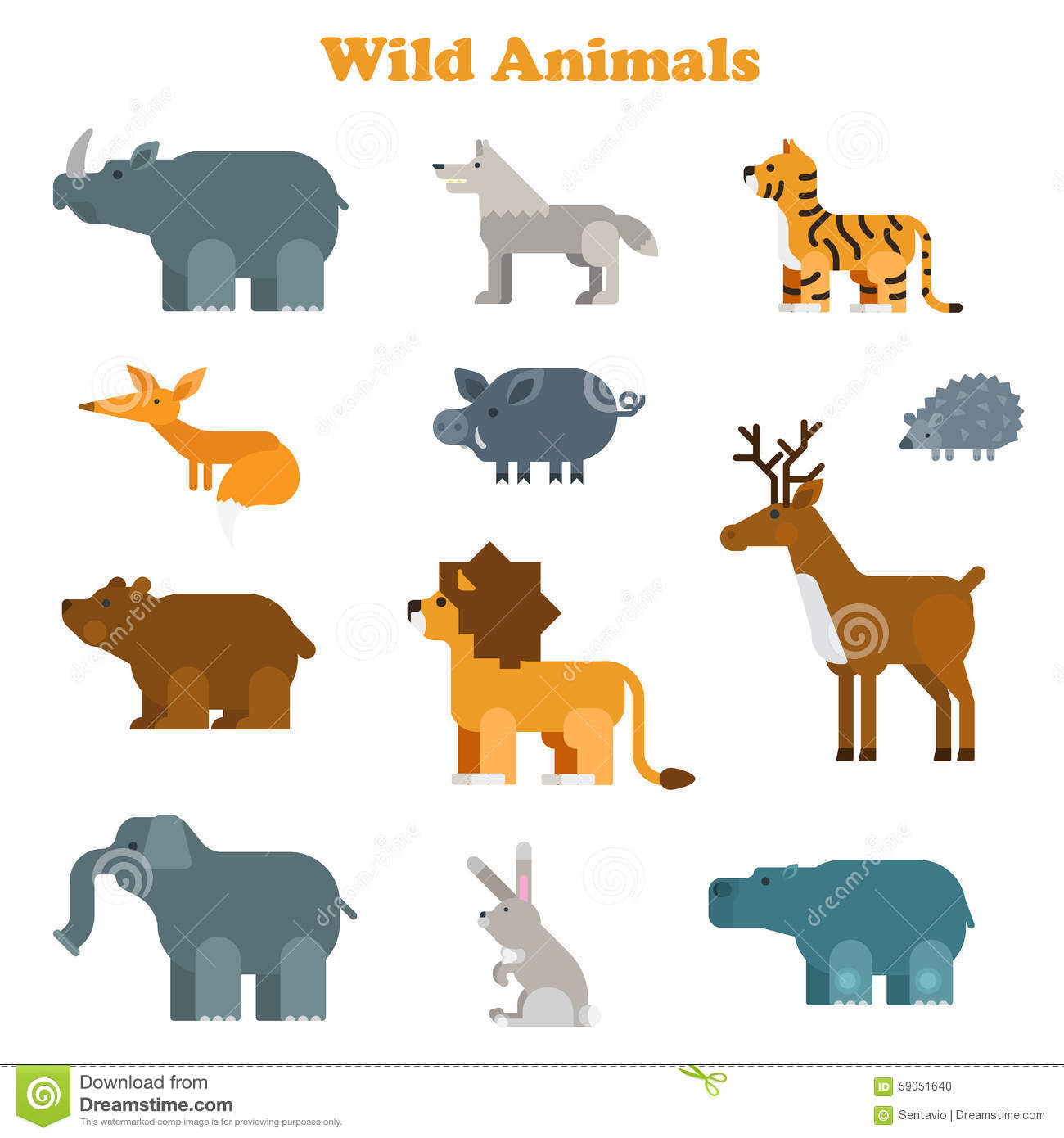 Italian Worksheet Animals