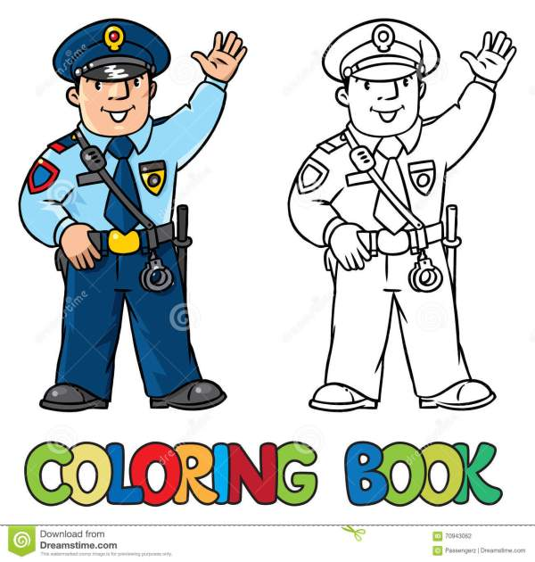 policeman coloring page # 75