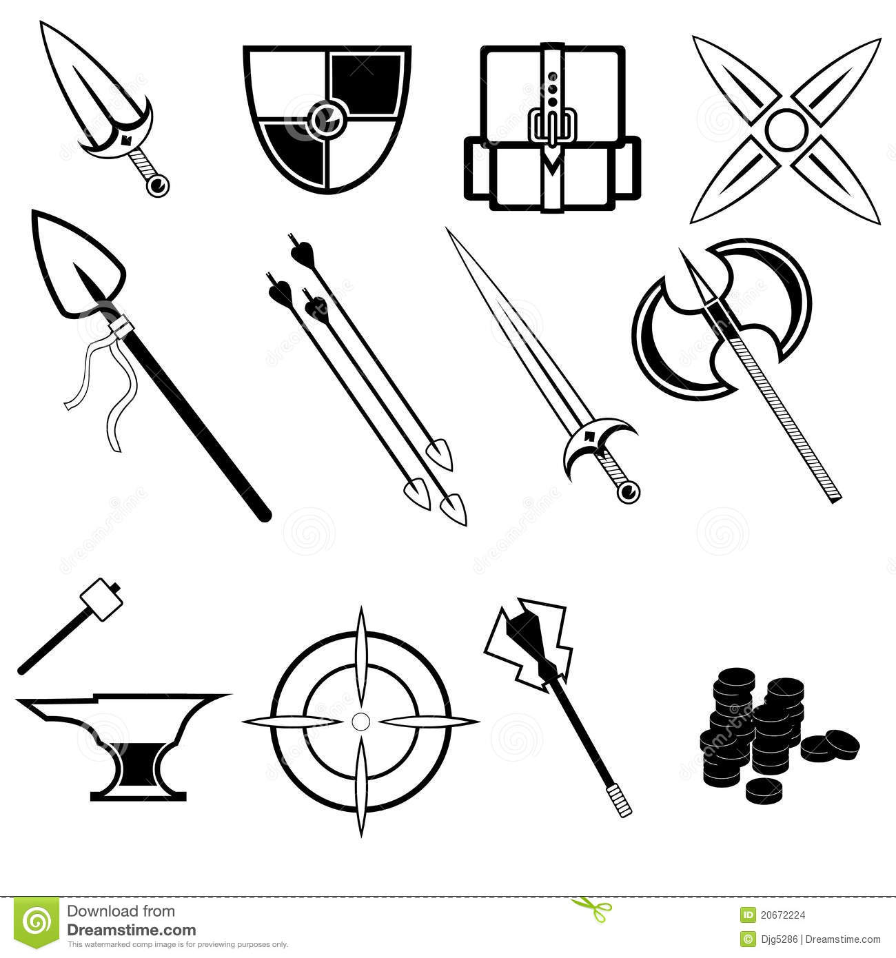 Game Icons Stock Vector Illustration Of Container Repair