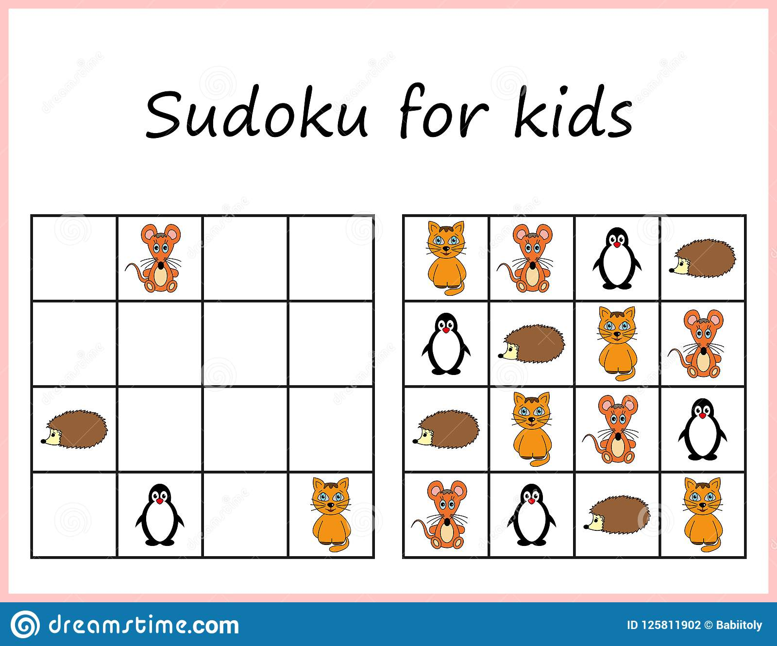 Declarative Sudoku Printable For Kids