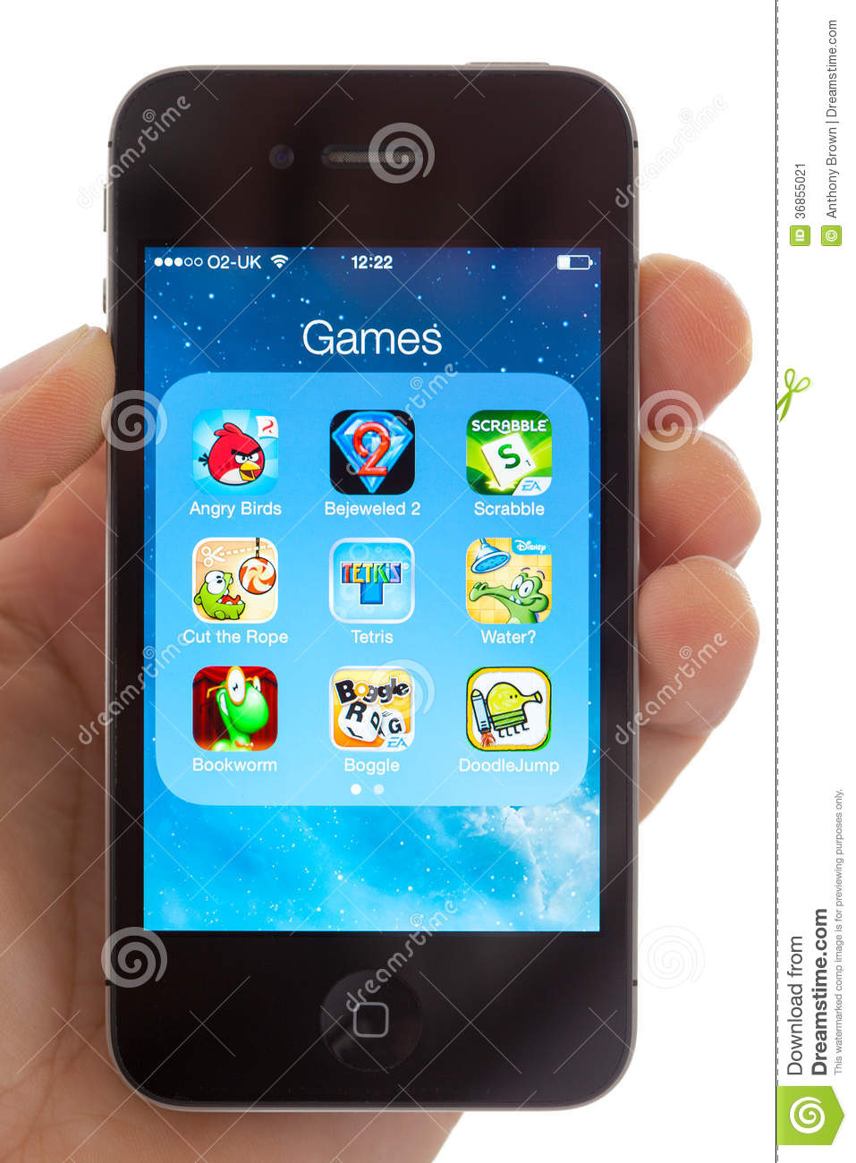 Games On An Apple IPhone 4s Editorial Photo   Image of     Download comp
