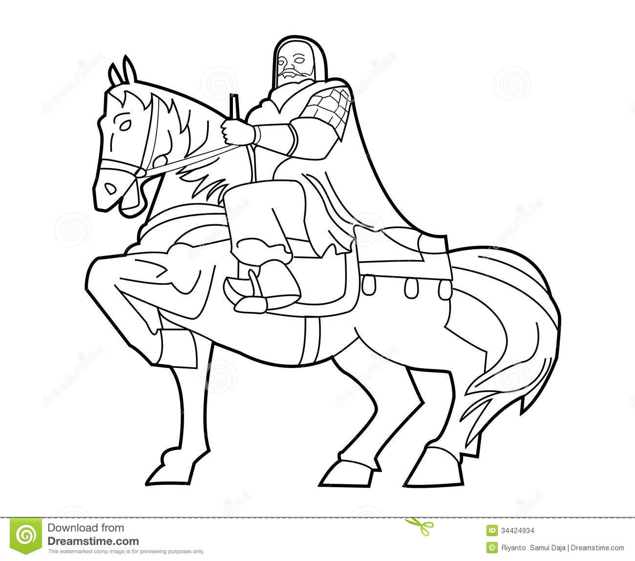 Genghis Khan Stock Vector Illustration Of Genghis History