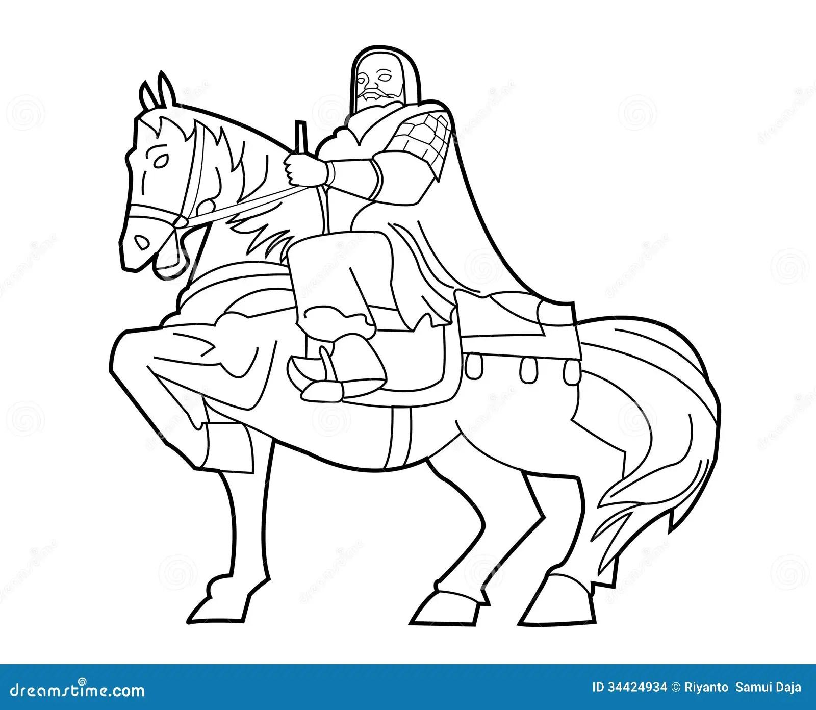 Genghis Khan Stock Vector Illustration Of Genghis