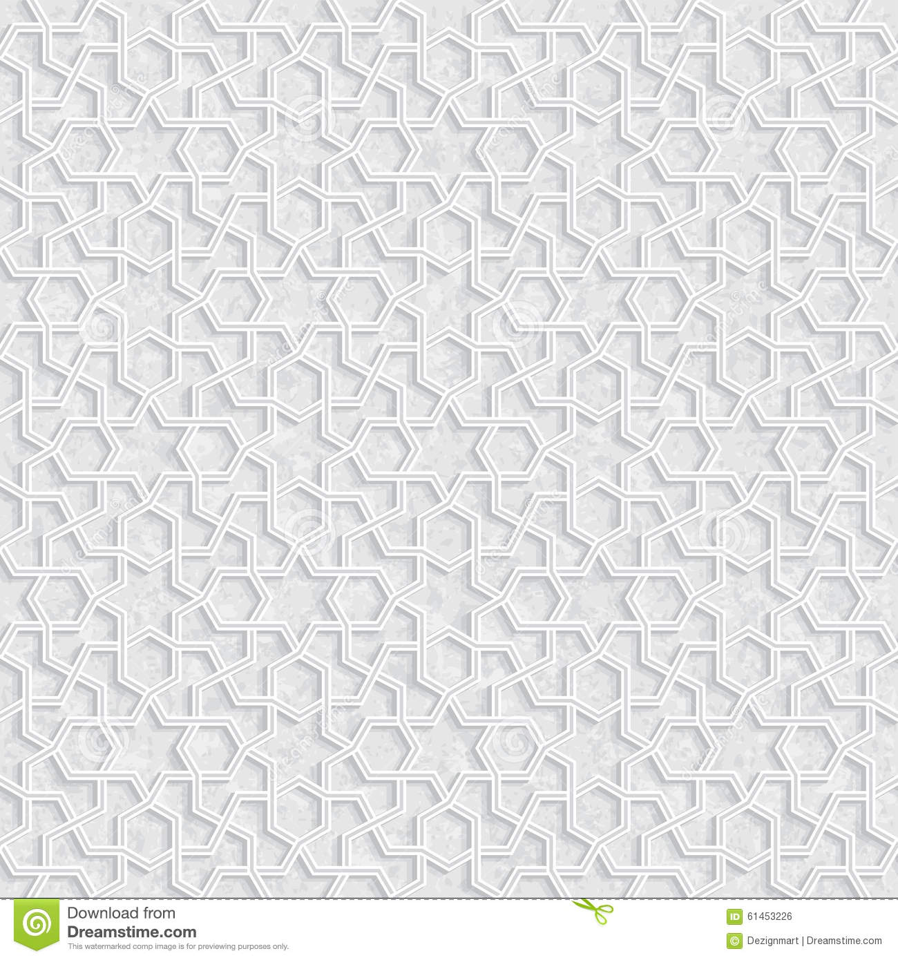 Geometric Pattern With Grunge Background Light Gray And