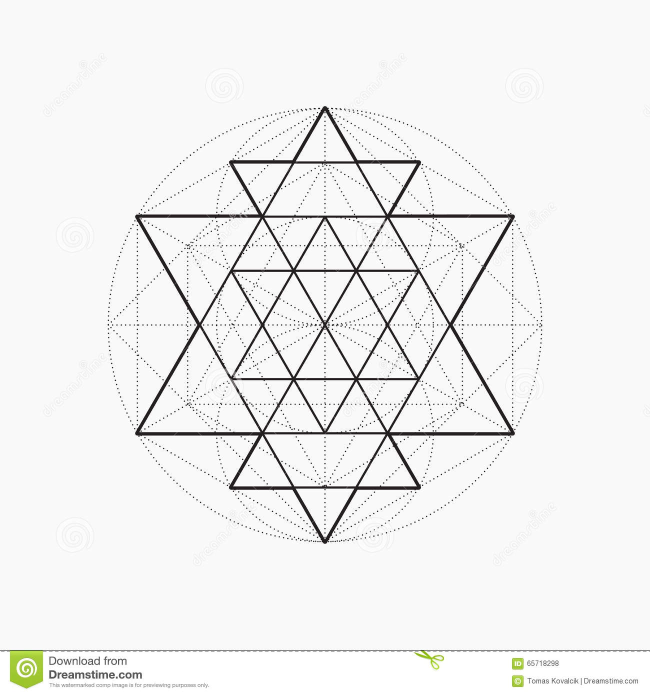 Geometric Patterns Triangle Vector